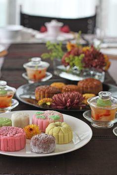 『月餅と中華とお茶を愉しむ会に伺いました』