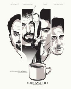 Usual Suspects #alternative-movie-posters