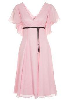 Cocktailkleid / festliches Kleid - hellrosa Pretty Clothes, Pretty Outfits, Cocktail, Cold Shoulder Dress, Dresses, Fashion, Blush Pink, Gowns, Vestidos
