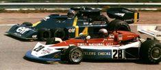 Espagne 1976 Watson Penske et Depailler Tyrrell