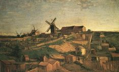 Vincent van Gogh: The Oil Paintings: View of Montmartre with Windmills. Paris: Autumn, 1886