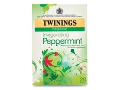 Looking for organic invigorating peppermint tea bags? Find this and a range of other fruit & herbal infusions available from the Twinings Tea Shop. Twinings Tea, Peppermint Tea, Tea Packaging, Herbal Tea, Coffee Time, Drinking Tea, Caffeine, Gourmet Recipes, Herbalism