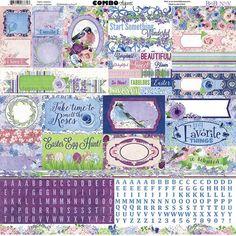 BoBunny+-+Secret+Garden+Collection+-+12+x+12+Cardstock+Stickers+-+Combo+at+Scrapbook.com