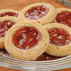 Delicious little shortbread cookie recipe with a hint of sweet jam.�. Danish Shortbread Cookies with Jam Recipe from Grandmothers Kitchen.