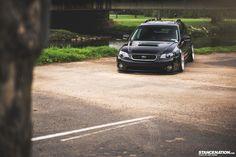 Slammed & Stanced Subaru Legacy Outback Wagon (9)