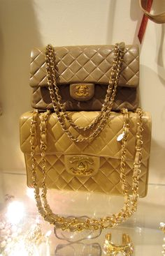Chanel Bags  Chanel Quilted Handbags   http://style-is-style.tumblr.com/post/32611046615