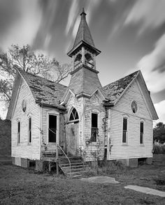 An old church, Somerset County, Maryland.