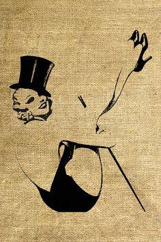 INSTANT DOWNLOAD PinUp Girl Vintage Illustration  by room29, $3.00