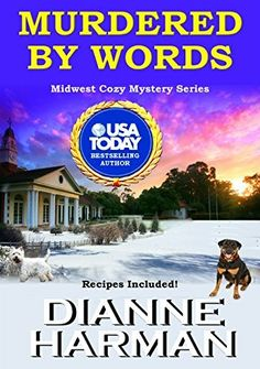 Murdered By Words Midwest Cozy Mystery Series Book