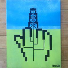 """Frack Off"" / Recycled Propaganda"