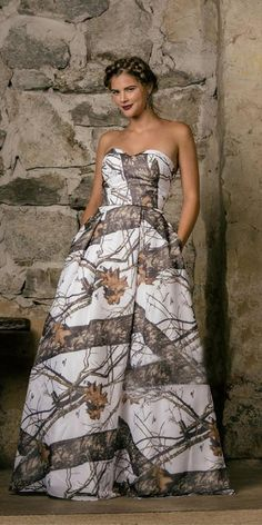 Camo Wedding Dresses For the Modern Bride: Thinking Outside The Box ★ #bridalgown #weddingdress