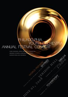 Philadelphia Youth Orchestra • 2008 • Seyfried: Concerto for Bass Trombone and Orchestra - World Premiere  • Paone Design Associates