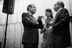 In My Shoes Book Launch in New York - Michael Ovitz, Tamara and Mike Bloomberg
