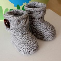 Stylish Baby Boots | Craftsy