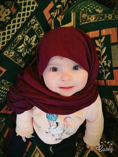 Little muslim baby