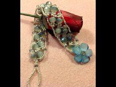 Delicate Sparkles Bracelet #2 Tutorial - YouTube