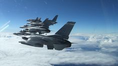 U.S. F-16 Fighting Falcon aircraft footage from the 120th Fighter Squadron, 140th Wing, Colorado Air National Guard, Buckley Air Force Base, Colorado, over the skies of Newfoundland and Labrador during Operation Noble Defender, September 20, 2020 🎬Film Credits: Capt. Cameron Hillier North American Aerospace Defense Command Air Force Bases, Us Air Force, Fighter Aircraft, Fighter Jets, Newfoundland And Labrador, Military Photos, National Guard, Us Army, Military Aircraft