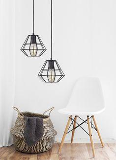 TK Lighting Diamond to doskonała forma oświetlenia funkcjonalnego oraz dekoracji do twojego domu. Zwłaszcza, jeśli lubisz styl industrialny.