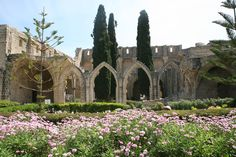 """Bellapais Abbey: """"Set in the foothills of the Kyrenia Mountains just ten minutes southeast of Girne, the mainly 13th-century Crusader abbey is a must-see during any stay in North Cyprus."""" North Cyprus: the Bradt Guide; www.bradtguides.com"""
