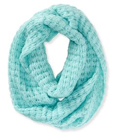 Solid Chunky Knit Infinity Scarf - Aeropostale