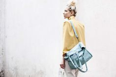 Lookbook S/S 2015 #mialuis #bag #yellow #provenza
