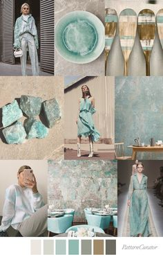 AMAZONITE JASPER Colour Schemes, Color Trends, Color Palettes, Jasper, Color Inspiration, Print Patterns, Visual Cue, Color Charts, Dark Blue Color