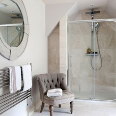 Ensuite Bathroom Ideas Uk shower room ideas to help you plan the best space | attic shower