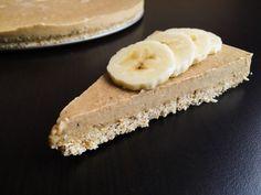 Banánový koláč s arašídovým máslem