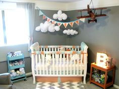 Airplane and Travel-Inspired Nursery - Project Nursery