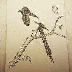 Ready to burn... #bird #paintwithgunpowder #jackson #wyoming #gunpowder http://ift.tt/1MLtJ4K