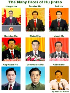 The Many Faces of Hu Jintao