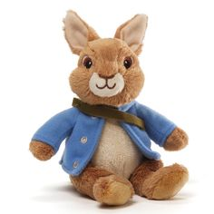 Our Peter Rabbit beanbag is based on the new Nickelodeon Peter Rabbit TV series. Measures 5in H x 3in W x 4.5in L. The leading soft toy manufacturer in the U.S., and also the oldest, GUND was founded