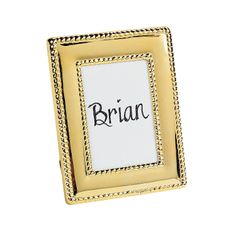 Goldtone Place Card Frames - OrientalTrading.com GREAT IDEA so reasonable