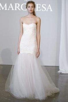 Preciosos vestidos de novia con tul: La tendencia más romántica para este 2015 [Fotos]