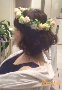 2種類のアップスタイルとボブ風アレンジの花嫁さま♪リハ篇