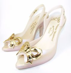 NIB Vivienne Westwood Anglomania + Melissa Lady Dragon Bow Wedding US 8 EUR 39 | eBay