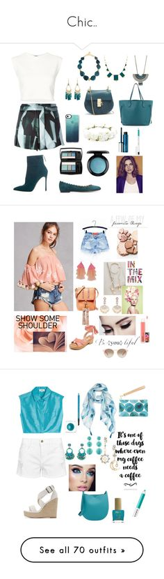 """""""Chic.."""" by indstargazer0804 ❤ liked on Polyvore featuring Ann Demeulemeester, Puma, Gianvito Rossi, Nest, House of Harlow 1960, Forever 21, Casetify, Lancôme, MAC Cosmetics and Louis Vuitton"""