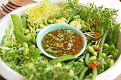 Vegan Oriental Bean Salad with Sweet Chilli, Lime & Coriander Dressing