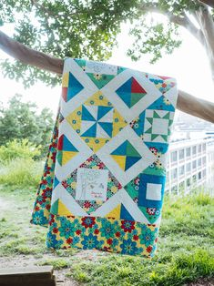 Sweet Summertime  Sweet Summertime is a 5 month block of the month pattern featuring easy piecing and hand embroidery.  Coordinates with Susan's Summer Lovin' designer thread collection with Aurifil.