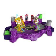 Teenage Mutant Ninja Turtles Battroborg Arena: Michaelangelo Vs Donatello