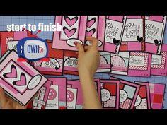 Stampin' Up! Sophisticated Serifs Note Card Box Tutorial   Stampin' Up! UK #1 Demonstrator Sam Donald