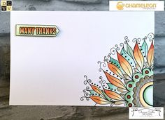 DCWV and Chameleon Pens Blog Hop | Sharon Callis Crafts