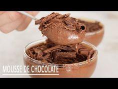 MOUSSE DE CHOCOLATE COM APENAS 3 INGREDIENTES | SEM OVOS | - YouTube