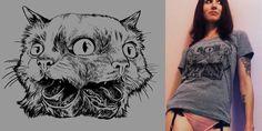 """Janus Cat"" t-shirt design by craighorky"