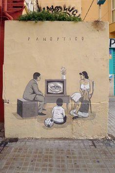 Escif, Panopticon, Valencia - unurth | street art