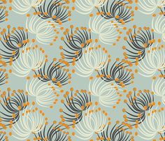 This collection mixes soft elegance with rustic nature, as meadows of fluffy dandelion seeds blowing in the wind Pattern Paper, Fabric Patterns, Flower Patterns, Print Patterns, Loom Patterns, Pattern Art, Hall Wallpaper, Print Wallpaper, Custom Wallpaper