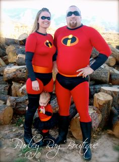 Parley Ray's The Incredibles- Mr. Incredible Super Suit Men's Halloween Costume. $300.00, via Etsy.