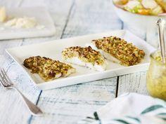 Kabeljau mit Pinienkern-Parmesan-Kruste - Low Carb