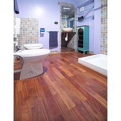 Khaya / African Mahogany Hardwood Flooring - Prefinished Engineered Khaya / African Mahogany Floors and Wood