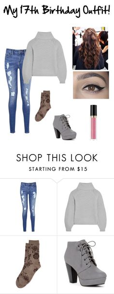 """My 17th birthday outfit!"" by fivesecondsofmeg ❤ liked on Polyvore featuring Tommy Hilfiger, Iris & Ink, Natori and Revlon"